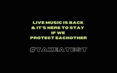 National #takeatest initiative